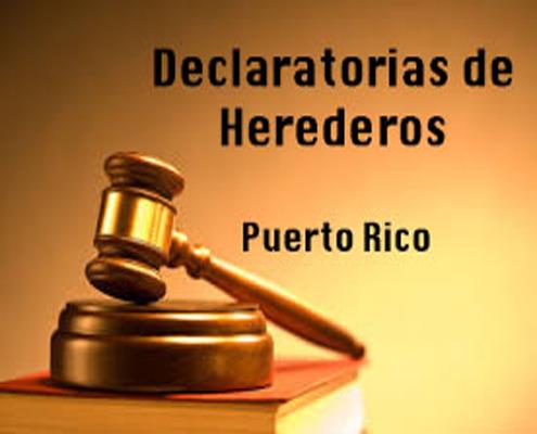 Declaratoria de Herederos - Puerto Rico
