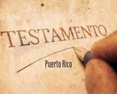 Testamento - Puerto Rico