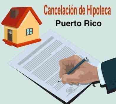 Cancelacion de Hipoteca