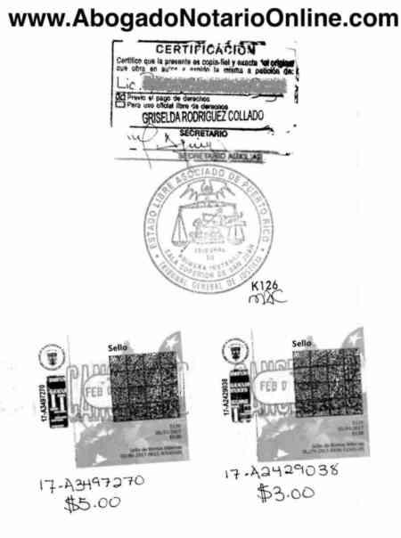 Copia Certificada - Abogado Notario Online