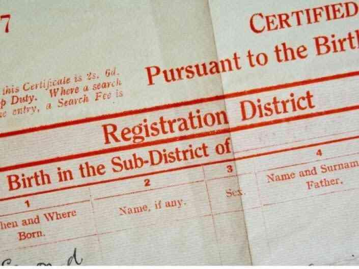 Certificado de Nacimiento (P